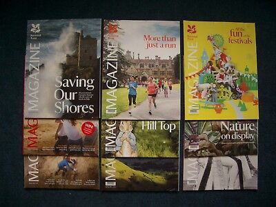 National Trust Magazine. 9 Issues. Job Lot. 2015 - 2017. Excellent Condition.
