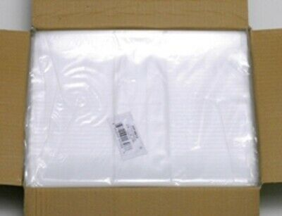 2x3 to 40x48 1mil & 1.25 Mil Elkay Plastic Lay Flat Clear Open Top End Poly Bags