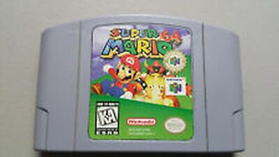 Super Mario 64 - Nintendo 64 Authentic N64 video game CARTRIDGE only