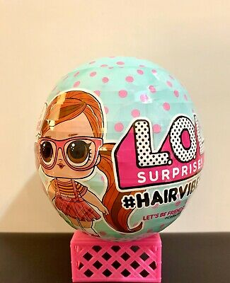 LOL Surprise! Hairvibes Doll #HAIRVIBES Ball 15 Surprises FREE SHIP