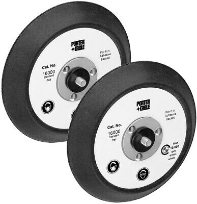 Porter Cable 2 Pack Of Genuine OEM Replacement Backing Pads # 16000-2PK