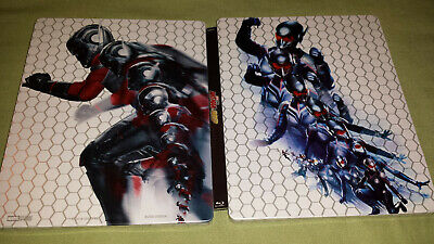 marvel antman and the wasp 4k steelbook blu ray zavvi