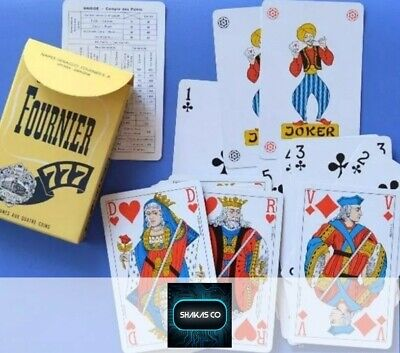 FOURNIER 777 Deck of Playing Cards, Naipes, Made In Spain best*400* cards