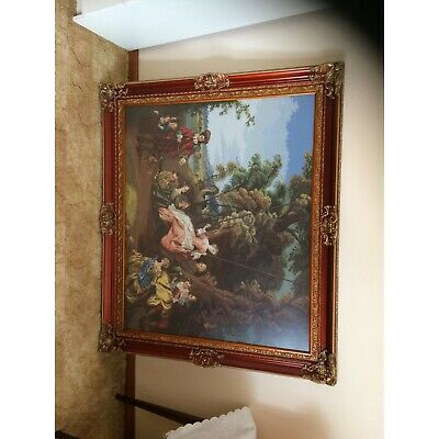 Tapestry picture with frame