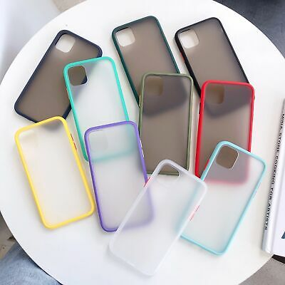 For iPhone 11 Pro Max XR XS 7 8 Plus 6S Matte Translucent Silicone Case Cover