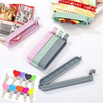 Plastic Practical Home Food Clips Sealing Clamp Snack Bag Sealer Kitchen Tool