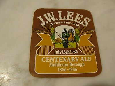 J.W.LEES Centenary Ale 1886-1986  Manchester  ENGLAND