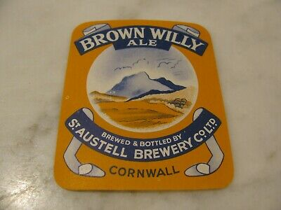 St.AUSTELL Brewery Co Ltd  Brown Willy Ale  CORNWALL  ENGLAND
