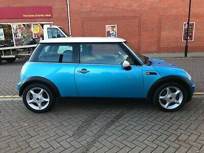 Mini Cooper Warranty >> 2005 Electric Blue Mini Cooper 57417 Miles 12 Months Mot
