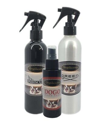 Dog Cologne Perfume -300ml - Aluminium Bottle - Choose Own Fragrance
