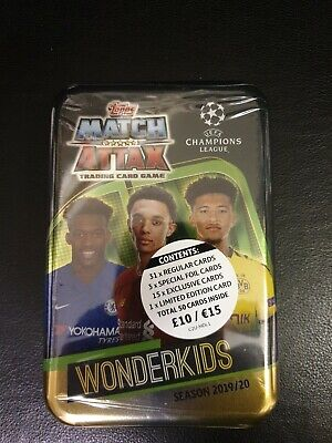 Topps Match Attax 2019/20 Mega Tin  50 cards including limited Edition