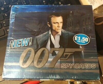 James Bond Commander 007 Spy Cards Commander 1 box sealed