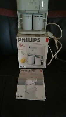 Philips Tea for Two Teamaker - VGC - with cups.box & instructions FREE POSTAGE!