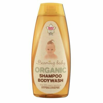 Beaming Baby Organic Baby Shampoo Bodywash 250ml