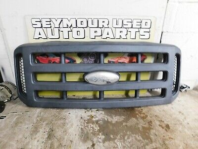 2006 2007 FORD F-250 F-350 FRONT Grille Black Surround Textured Finish COMPLETE