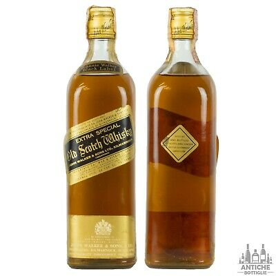 Johnnie Walker Black Label Extra Special Old Scotch Whisky Anni '50/'60 75Cl 43°