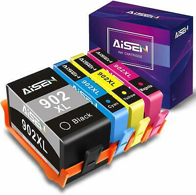 4 Pack HP 902xl Ink cartridges for OfficeJet Pro 6968 6978 6958 6962 6960 6970