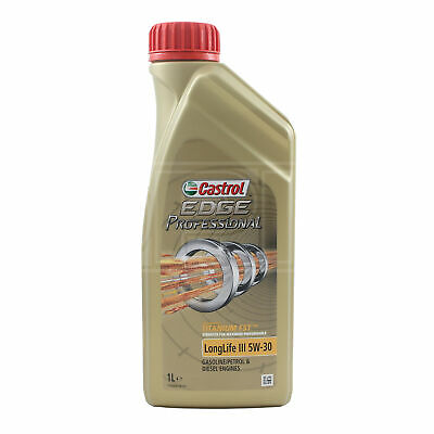 Castrol Edge Professional LongLife III 5W-30 5W30 Fully etic Engine Oil 1 Litre