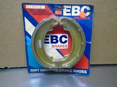 EBC 315 Grooved Brake Shoes HONDA