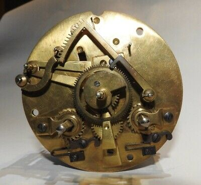Antique Unknown French Clock Movement