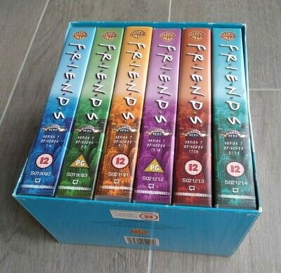 Friends Series 7 / Season 7 VHS box set - 6 tapes - all 23 episodes