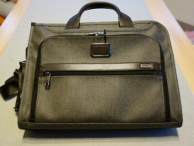 TUMI ALPHA 2 DELUXE Businesstasche EARL / GREY +++NEU+++