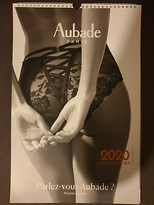 Calendrier Aubade 2020 Collection Collector + Pochette Lingerie Antigel Offerte!