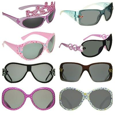 8 STYLES: Kids Girls Sunglasses Flower Crown Butterfly Pink Childrens Glasses