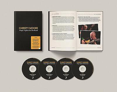 CHRISTY MOORE MAGIC NIGHTS ON THE ROAD 4 CD SET (Release November 22nd 2019)