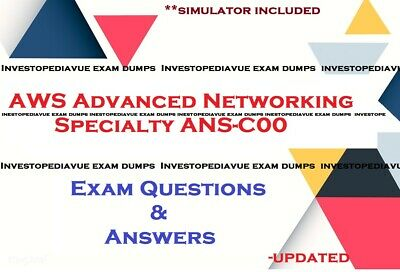 ANS-C00 AWS Advanced Networking Specialty exam dumps and simulator
