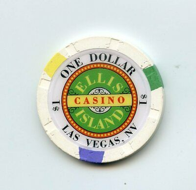 1.00 Chip from the Ellis Island Casino in Las Vegas Nevada