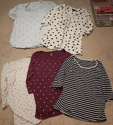 Maternity Top Bundle Size 12 / Meduim H&M and Topshop