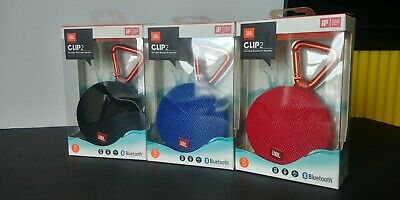 JBL Clip 2 Waterproof Portable Bluetooth Wireless Speaker
