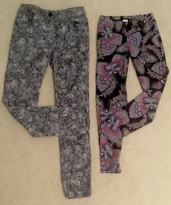 Girls Gap Leggings And Marks And Spencer Autograph Trouser Age 11-12 Bundle