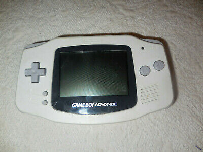 Nintendo Gameboy Advance Hand Held System  Game Boy Agb-001 White