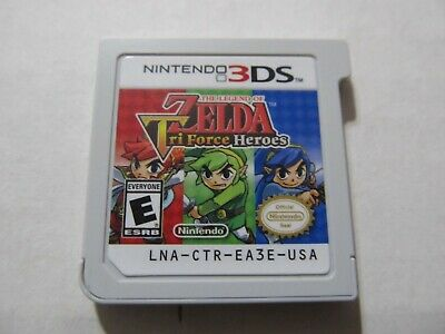 The Legend Of Zelda: Tri Force Heroes (Nintendo 3Ds,2015) Tested....please Read.