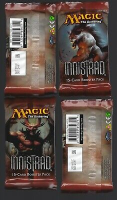 Magic the Gathering Innistrad Booster Pack X4 Factory Sealed