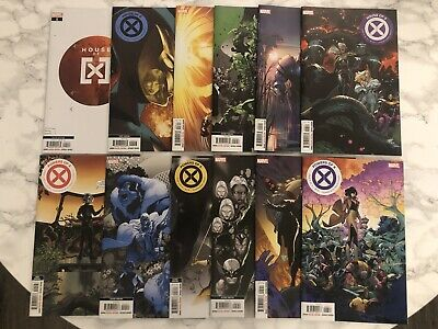 House Of X + Powers Of X 1-6 Complete Run - 12 Comics Various Printings - Marvel