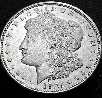 1921-D Morgan Silver Dollar A43-308