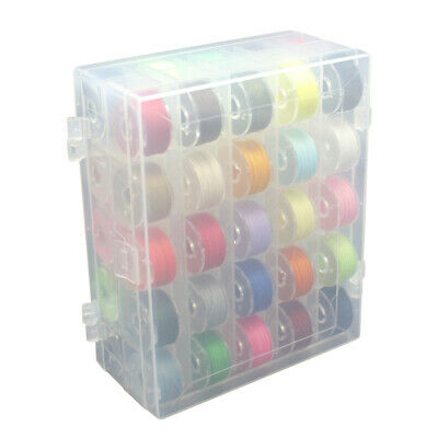 Practical DIY Mixed Colors Double Layer Bobbin Case Sewing Accessories Set