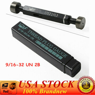 1 3//4-16 UN Thread Plug Gage 2B GO NOGO 100/% Calibrated ship by DHL-1.75-16 UN