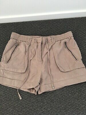 Forever New Tan Shorts Size 12