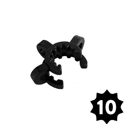 GRAV Labs 14mm Plastic Joint Clamps (Keck Clip) — Pack of 10