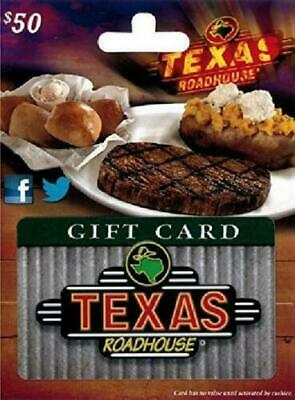 Texas Roadhouse Gift Card $50 - 16% OFF