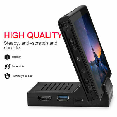 Portable Dock HDMI USB Replacement Docking Station For Nintendo Switch in Stock
