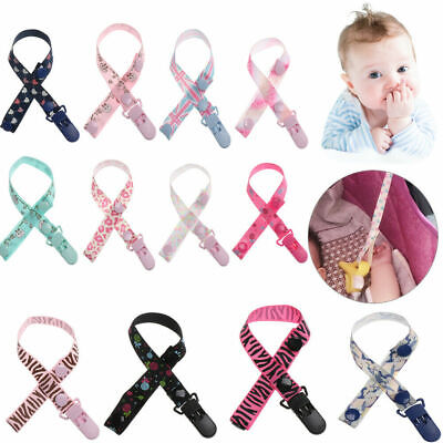 New Baby Anti-lost Hot Clip Holder Dummy Pacifier Soother Nipple Strap Chain Pop