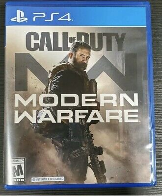 Call of Duty:Modern Warfare PS4 2019