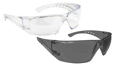 1,6 or 12 Pairs Portwest PS33 PW Safety Spectacle Glasses Eye Screen Plus