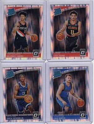 2018-19 Panini Optic Shock Silver Prizm U Pick RC Luka Doncic Trae Young JJJ Lot