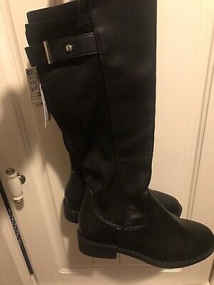 Bnwt Next Girls Knee High Boots Size 11